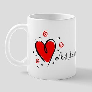 """""""I Love You"""" [Lithuanian] Mug"""